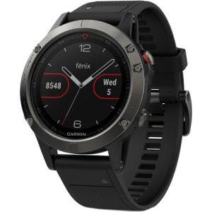 Ceas smartwatch Garmin Fenix 5 Sapphire